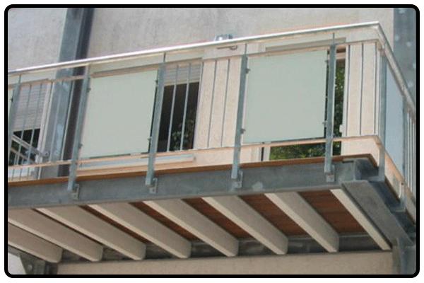 Schreinerei HUB GmbH - Balkone
