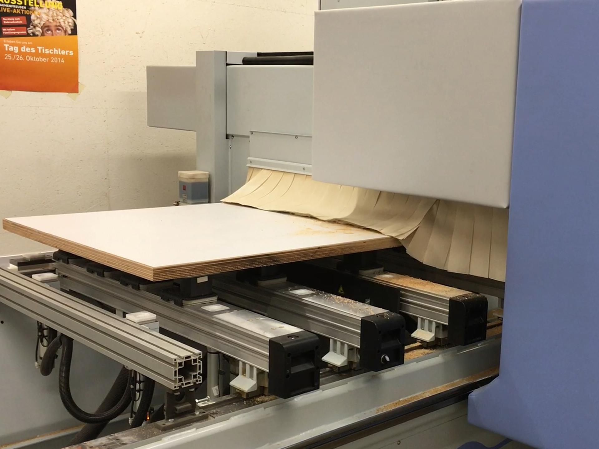 Schreiner-Hub GmbH - CNC 5Achs Bearbeitungszentrum